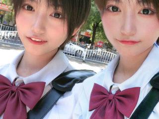 偽双子アーカイブス|SNSには偽双子がいっぱい7  絶対的美少女偽双子。